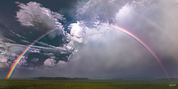 """""""I have set my rainbow in the clouds, and it will be the sign of the covenant between me and the earth."""" Genesis 9:13 NIV"""