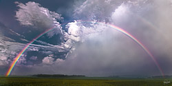 """I have set my rainbow in the clouds, and it will be the sign of the covenant between me and the earth."" Genesis 9:13 NIV"