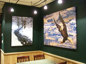 As the artist's exclusive gallery in northern Wisconsin, Kristen's entire collection of limited edition giclée prints on canvas is available for purchase at the Rookery to take home or have shipped at your convenience.